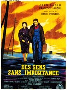 Des gens sans importance - French Movie Poster (xs thumbnail)