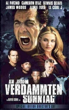 Any Given Sunday - German VHS movie cover (xs thumbnail)