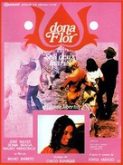 Dona Flor e Seus Dois Maridos - French Movie Poster (xs thumbnail)