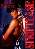 Striptease - German Movie Poster (xs thumbnail)