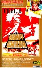 Kampf um Rom I - German VHS cover (xs thumbnail)