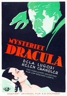 Dracula - Swedish Movie Poster (xs thumbnail)