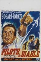 Chain Lightning - Belgian Movie Poster (xs thumbnail)