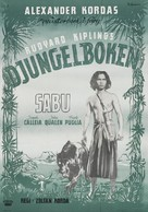 Jungle Book - Swedish Movie Poster (xs thumbnail)