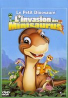 The Land Before Time XI: Invasion of the Tinysauruses - French Movie Cover (xs thumbnail)