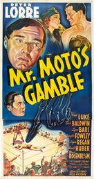 Mr. Moto's Gamble - Movie Poster (xs thumbnail)