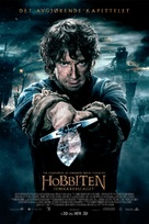 The Hobbit: The Battle of the Five Armies - Norwegian Movie Poster (xs thumbnail)