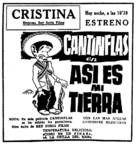 ¡Así es mi tierra! - Spanish Movie Poster (xs thumbnail)