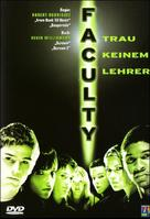 The Faculty - German DVD movie cover (xs thumbnail)