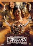 Forbidden Warrior - Brazilian Movie Cover (xs thumbnail)