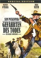 The Deadly Companions - German DVD cover (xs thumbnail)