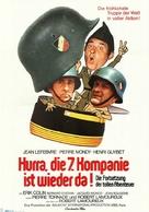 On a retrouvè la 7e compagnie - German Movie Poster (xs thumbnail)