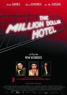 The Million Dollar Hotel - German Movie Poster (xs thumbnail)