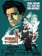Uomini e lupi - French Movie Poster (xs thumbnail)