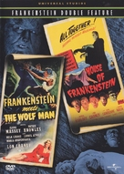 Frankenstein Meets the Wolf Man - DVD movie cover (xs thumbnail)