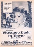 Strange Lady in Town - poster (xs thumbnail)