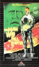 The Man Who Fell to Earth - VHS movie cover (xs thumbnail)