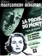 Rage in Heaven - Belgian Movie Poster (xs thumbnail)