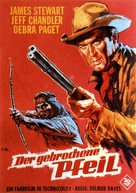 Broken Arrow - German Movie Poster (xs thumbnail)