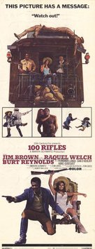 100 Rifles - Movie Poster (xs thumbnail)