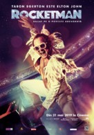 Rocketman - Romanian Movie Poster (xs thumbnail)
