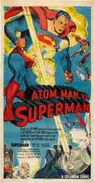Atom Man Vs. Superman - Movie Poster (xs thumbnail)