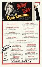 Dead Reckoning - British Movie Poster (xs thumbnail)