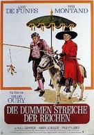 La folie des grandeurs - German Movie Poster (xs thumbnail)