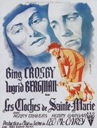 The Bells of St. Mary's - French Movie Poster (xs thumbnail)