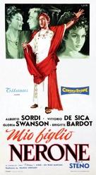 Mio figlio Nerone - Italian Theatrical poster (xs thumbnail)