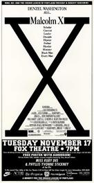 Malcolm X - poster (xs thumbnail)