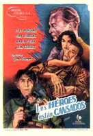 Les héros sont fatigués - Spanish Movie Poster (xs thumbnail)