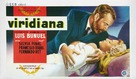 Viridiana - Belgian Movie Poster (xs thumbnail)