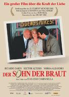 Hijo de la novia, El - German Movie Poster (xs thumbnail)