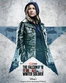 """""""The Falcon and the Winter Soldier"""" - British Movie Poster (xs thumbnail)"""