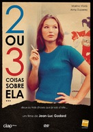 2 ou 3 choses que je sais d'elle - Portuguese DVD movie cover (xs thumbnail)