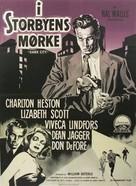 Dark City - Danish Movie Poster (xs thumbnail)