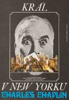 A King in New York - Czech Movie Poster (xs thumbnail)