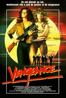 Naked Vengeance - French VHS movie cover (xs thumbnail)