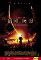 The Chronicles Of Riddick - Polish Movie Poster (xs thumbnail)