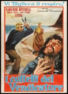 I coltelli del vendicatore - Italian Movie Poster (xs thumbnail)