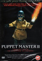 Puppet Master II - British DVD movie cover (xs thumbnail)