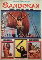 """Sandokan"" - Turkish Movie Poster (xs thumbnail)"