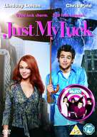 Just My Luck - British DVD cover (xs thumbnail)