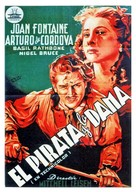 Frenchman's Creek - Spanish Movie Poster (xs thumbnail)