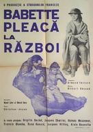 Babette s'en va-t-en guerre - Romanian Movie Poster (xs thumbnail)