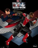 """""""The Falcon and the Winter Soldier"""" - Portuguese Movie Poster (xs thumbnail)"""