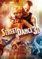 StreetDance 3D - German Movie Poster (xs thumbnail)