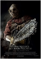 Texas Chainsaw Massacre 3D - Croatian Movie Poster (xs thumbnail)