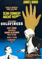 Goldfinger - Swedish Movie Poster (xs thumbnail)